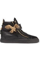 Giuseppe Zanotti Wedge Spring Summer Casual Weekend Off Duty Black