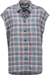 Iro Dally Plaid Cotton And Wool Blend Shirt Multi
