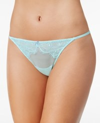 B.Tempt'd By Wacoal B.Sultry Lace Thong 976361 Island Paradise Very
