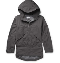 Nonnative Adventurer Ripstop And Gore Tex Hooded Jacket Charcoal