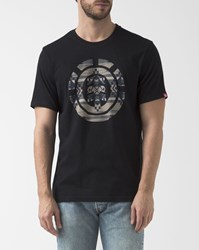 Element Black Blanket Icon Fill Logo Printed T Shirt