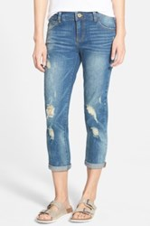 Jolt 'Girlfriend' Relaxed Jeans Blue
