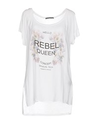 Rebel Queen T Shirts White