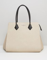 Paul's Boutique Pauls Coco Structured Tote In Nude Nude Beige