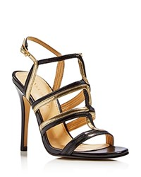 Ivanka Trump Hazen T Strap High Heel Sandals