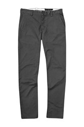French Connection Men's Machine Gun Stretch Kr Slim Charcoal