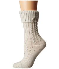 Ugg Sienna Short Rainboot Socks Cream Women's Knee High Socks Shoes Beige