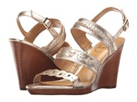Jack Rogers Arden Wedge Platinum Women's Wedge Shoes Silver