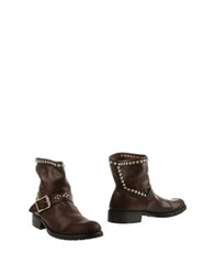 Htc Ankle Boots Cocoa