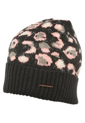 Barts Camille Hat Charcoal Rose