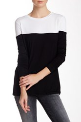 Fate Long Sleeve Contrast Tee Multi