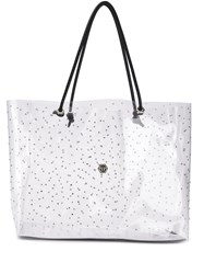 Philipp Plein Statement Shopper Tote Neutrals