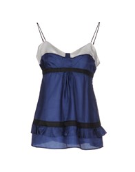 Liviana Conti Topwear Tops Women Dark Blue