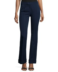 Elie Tahari Bailee Flared Leg Pants Navy Women's Navy Yard