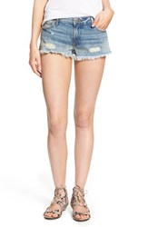 Women's True Religion Brand Jeans 'Joey' Cutoff Shorts Vintage True Destroyed