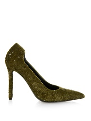 Balenciaga D'orsay Sequin Pumps