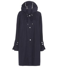 See By Chloe Cotton Parka Blue