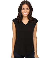 Joe's Jeans Lennox Tee Onyx Women's T Shirt Black