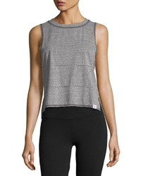 Vimmia Pacific Pintuck Muscle Tank Top Gray