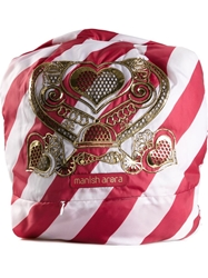 Manish Arora Candy Stripe Baby Backpack Red