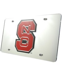 Stockdale North Carolina State Wolfpack License Plate Silver