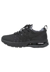 Nike Performance Fingertrap Max Sports Shoes Black Anthracite Cool Grey