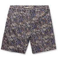 Norse Projects Liberty Luther Printed Cotton Shorts Multi