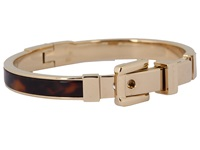 Michael Kors Bedford Buckle Bangle Gold Tortoise Bracelet