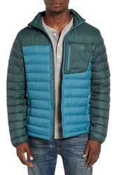 Mountain Hardwear Men's Dynotherm Packable Down Puffer Jacket Cloudburst Dark Forest
