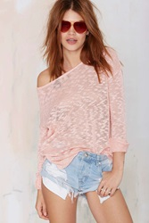 Nasty Gal Glamorous Lay It Back Sweater