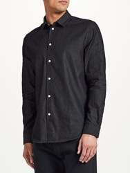 Samsoe And Samsoe Liam Nx Shirt Washed Black