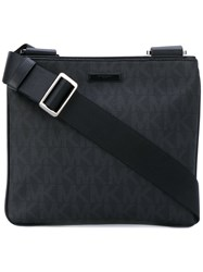 Michael Michael Kors Jet Set Messenger Bag Men Polyurethane One Size Black