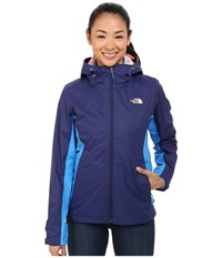 The North Face Arrowood Triclimate Jacket Patriot Blue Clear Lake Blue Women's Coat