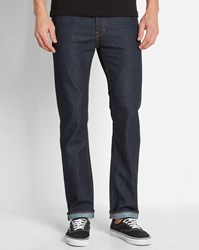 Carhartt Blue Wash Breathable Stretch Straight Slim Jeans