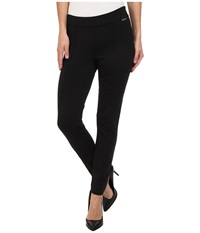 Calvin Klein Front Seamed Pull On Pant Black Women's Casual Pants