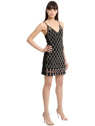 David Koma Embellished Dress With Cutouts