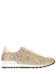 Casadei Limited Edition Glittered Sneakers Gold