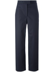 Cedric Charlier Cropped Pants Blue