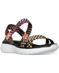 Skechers Women's Counterpart Breeze Beatbox Athletic Sandals From Finish Line Black Multi