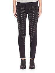 Brockenbow Reina Studded Skinny Fit Jeans Black