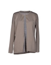 Alpha Studio Cardigans Dove Grey