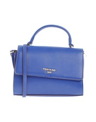 Pomikaki Handbags Blue