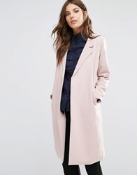 Y.A.S Anna Trenchcoat Mahogany Rose Pink