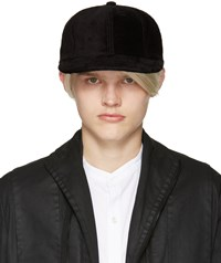 Attachment Black Faux Fur Cap