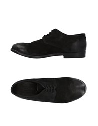The Last Conspiracy Lace Up Shoes Black