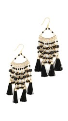 Rosantica Kilimangiaro Earrings Black