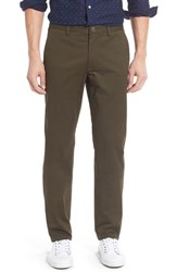 Bonobos Men's Big And Tall Slim Fit Washed Stretch Cotton Chinos Dark Cypress