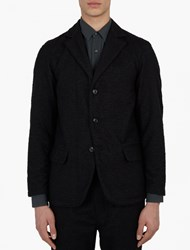 Our Legacy Black Wool Blend Archive Blazer Iii