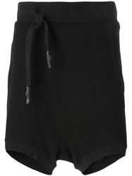 11 By Boris Bidjan Saberi Off Centre Drawstring Track Shorts