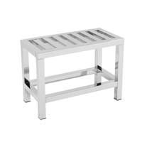 Bath Bazaar Stainless Steel Bench